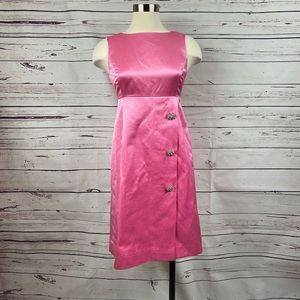 Lilly Pulitzer Pink Satin Dress